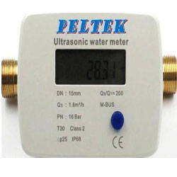 SMART Ultrasonic Water Meter | Peltek India |  www.peltekindia.in