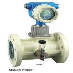 Turbine gas flow meter